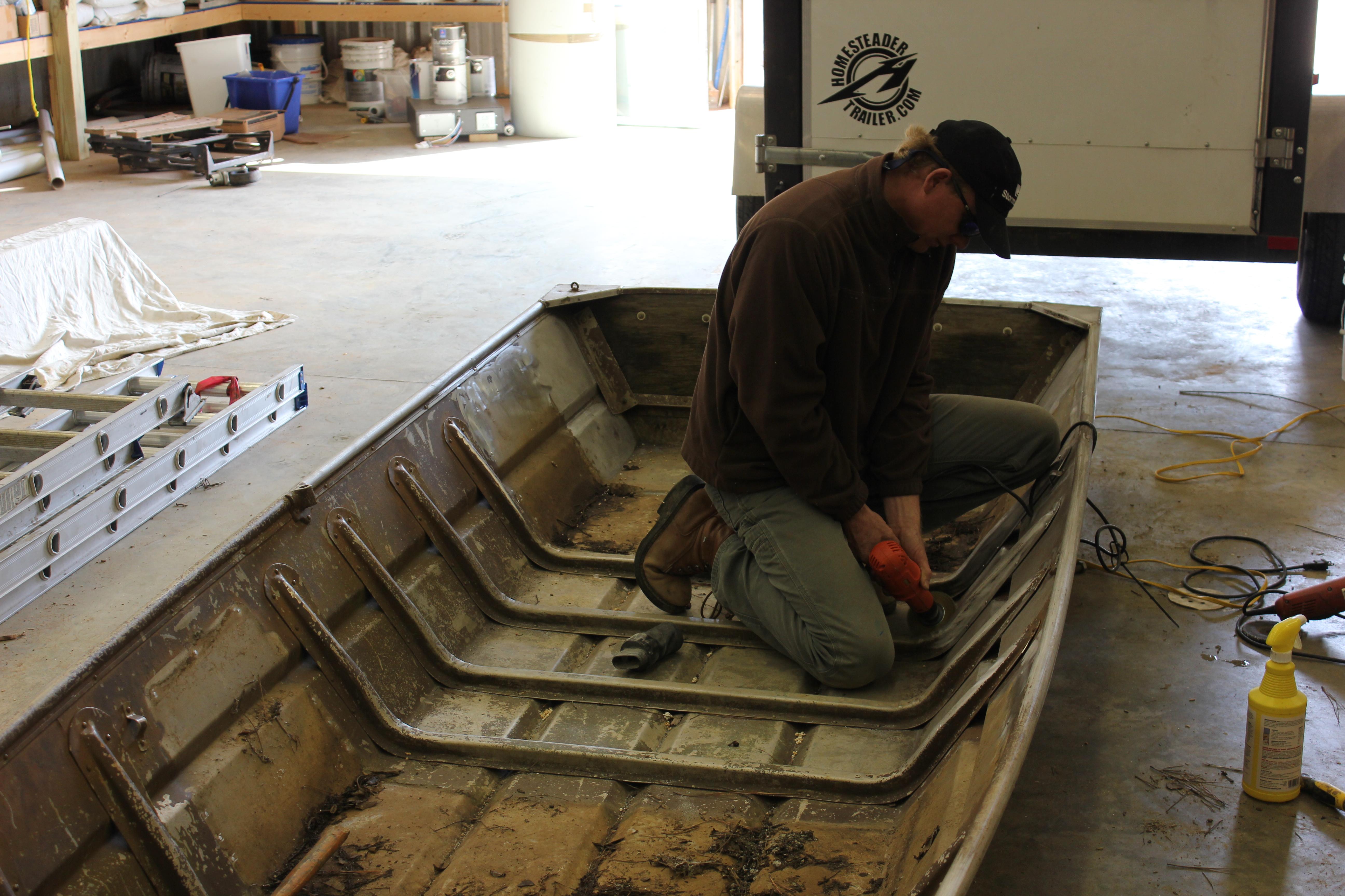 Remolding a Jon Boat | PaPa Got a New Camera